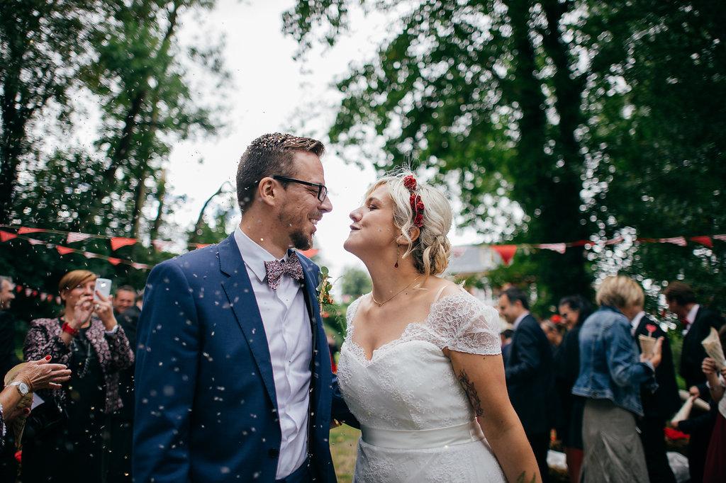 Un mariage chic guinguette dans le nord - Mariage guinguette chic ...